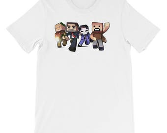 minecraft Short-Sleeve Unisex T-Shirt