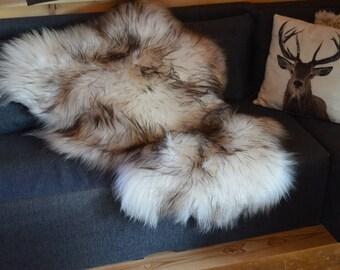 Sheepskin Rugs Decorative Luxury Faux Sheepskin Seat Cover Chair Pad Plain Shaggy