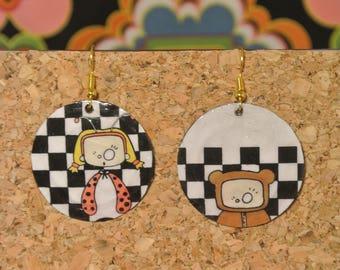 Carnival 2 Mylou CAPS earrings