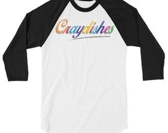 Craydishes 3/4 sleeve raglan shirt