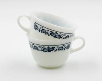 Vintage Pyrex Coffee Cups