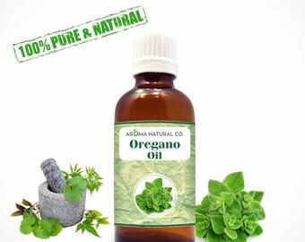 Oregano Essential Oil Pure & Natural For Aromatherapy