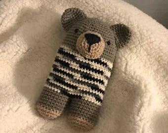 Dolly Barry crochet doll