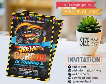 hot wheels, hot wheels birthday, hot wheels card, hot wheels invitation, hot wheels birthday party, hot whells birthday party card