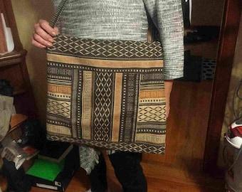 Brown hobo bag