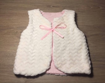 Shepherd reversible vest, gift