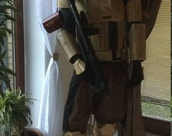 Star Wars Rogue One Shoretrooper armor