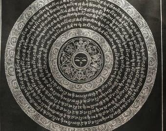 Hand Painted Nepali Thangka