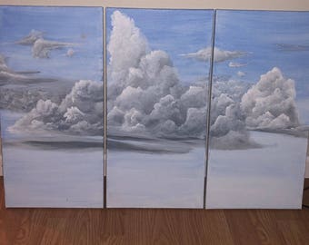Clouds On Canvas