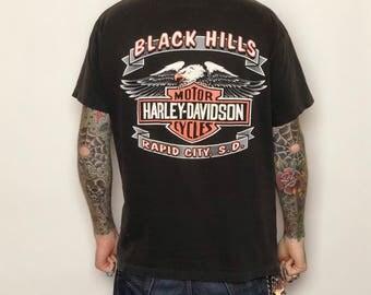 Black Hills Harley Tee