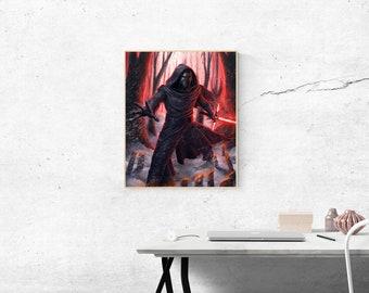 Star Wars Kylo Ren Poster Artwork