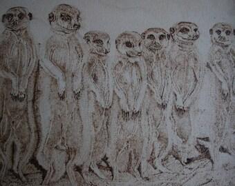 MEERKATS United Unique Artwork