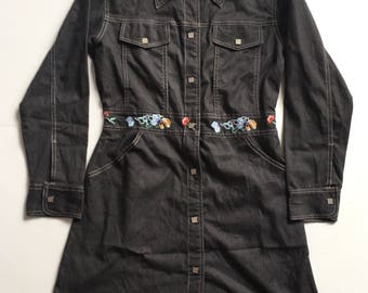 Vintage Christian Dior Parka Embroidery Made In France not gucci louis vuitton chanel hermes balenciaga fendi