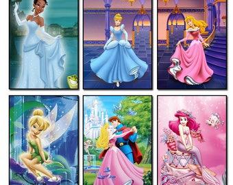 5d diamond embroidery kits cross-stitch Disney Princess home decor diamond painting mosaic diy pcitures paint needlework