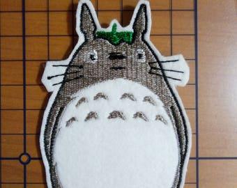 Totoro Patch, My Neighbor Totoro, Embroidery Patch, Hayao Miyazaki, Anime Patch, Kiki, Ghibli Patch, Spirited Away, Catoon