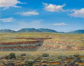 Rio Grande Canyon Taos, NM