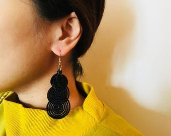 Handmade earrings long earrings Chinese earrings