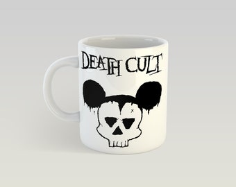 Death Cult 11oz Coffee Mug Ian Astbury Billy Duffy Southern Death Cult The Cult Sisters of Mercy Bauhaus The Damned Post Punk Peace Punk