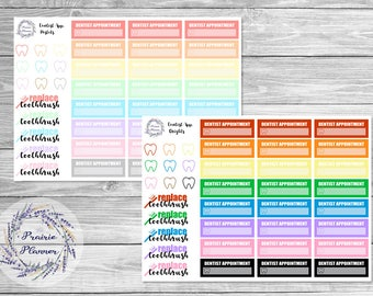Dentist Appointment - Planner Stickers