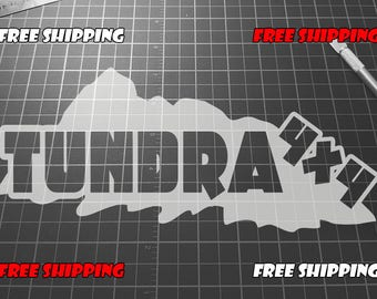 Tundra 4x4 Decal