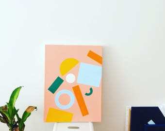 "Acrylic Painting - ""Summer"""