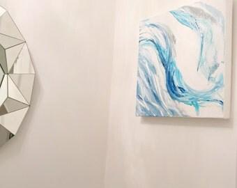 Original Acrylic Artwork - Blue Breeze