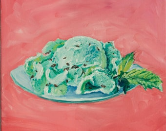 Mint Chocolate chips Ice Creams