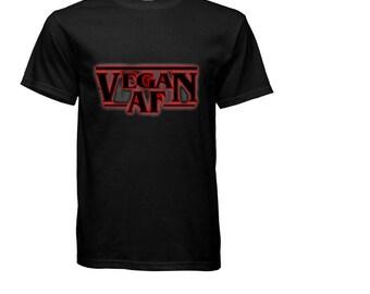 Stranger Things Inspired Vegan ASF Custom Made T-Shirt