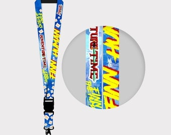 Adventure Time Finn the Human Lanyards