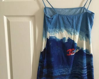 Unique Rare Chanel Summer Dress