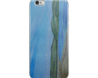 Scottish landscape painting iPhone Case