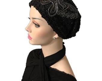 Beautiful beret hand made