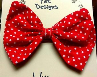 Cat/dog bowties