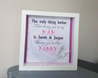 Mum/mam frame
