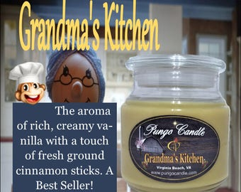 Grandma's Kitchen Scented Jar Candle (16 oz.)!