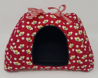 Hidey Canopy \ Guinea pig \ Small pets \ bedding \ Cotton and Fleece bedding