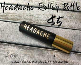 Headache Roller Bottle