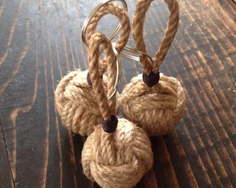 Keyring, Monkeyfist, nautical knot