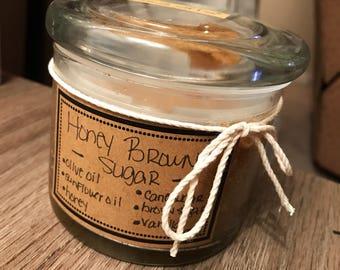 Medium Honey Brown Sugar Scrub