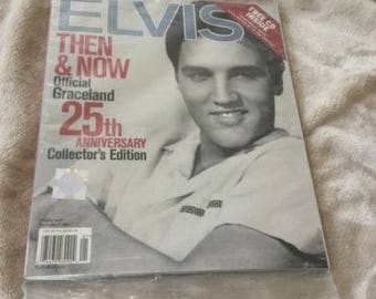 Elvis Then & Now 25th Anniversary Collector's Edition with CD