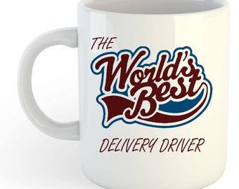 The Worlds Best Delivery Driver Mug