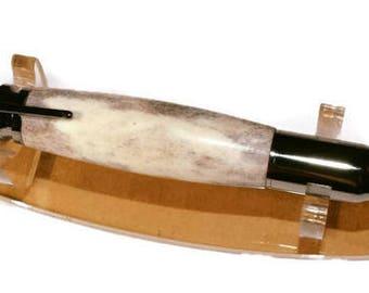 30 cal bolt action antler pen!