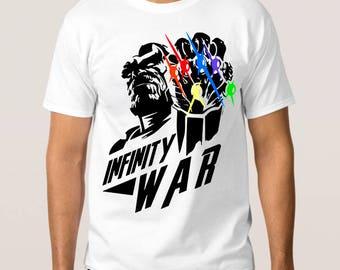 Thanos Infinity War T-Shirt, Marvel Comics Tee, All Sizes