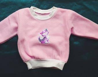 Baby Sweater Kids Sweater Polar Fleece Quieker Application