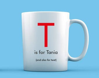 T is For... Mug