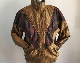 80's Lavon Petite Windbreaker Jacket