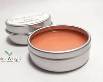 Natural Lip Balm (Peach Color) 8 g.