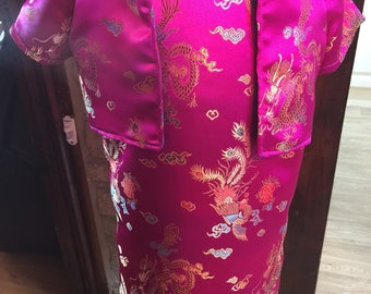 Oriental dress and Jacket