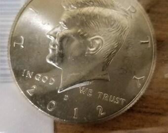 Set of 2012 d&p uncurculated half dollars