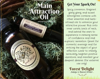 Essential Oil Potion For Building Confidence, Enhancing Attractive Power and Heightening Sensuality